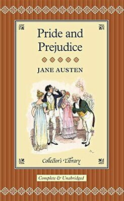 Pride And Prejudice (Collector's Library) By Jane Austen Hardback Book The Cheap • 2.88£
