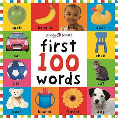 £3.59 • Buy First 100 Words UK Board Book Edition (Bright Baby... By Roger Priddy Board Book