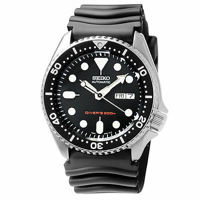$ CDN378.38 • Buy Seiko SKX007K1 Automatic Diver Black Rubber Strap Analog Men's Watch