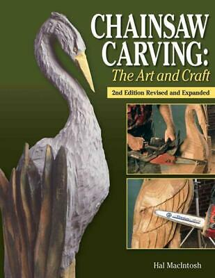 Chainsaw Carving - Macintosh, Hal - New Paperback Book • 19.74£