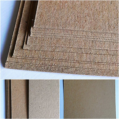 £8.70 • Buy A4 A5 Recycled Natural Brown Kraft Card Stock Blanks For Wedding Invites & Tags