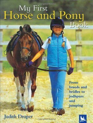 £5.99 • Buy My First Horse And Pony Book By Draper, Judith Book The Cheap Fast Free Post