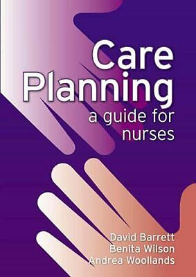 Care Planning: A Guide For Nurses By Woollands, Andrea Paperback Book The Cheap • 16.99£