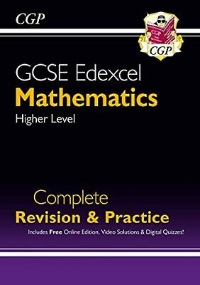 £6.49 • Buy New 2021 GCSE Maths Edexcel Complete Revision & Practice: Higher... By CGP Books
