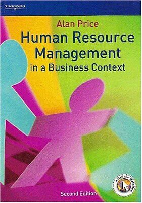 Human Resource Management In A Business Context By Alan Price Paperback Book The • 5.99£