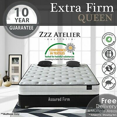 AU279 • Buy QUEEN Mattress - Super Firm Mattress W/ Extra Firm Pocket Spring + Ultra HD Foam