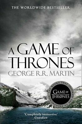 A Game Of Thrones (A Song Of Ice And Fire, Book 1) By George R.R. Martin Book • 3.99£
