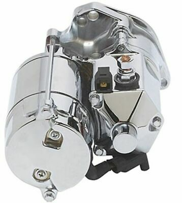 $169.98 • Buy New Ultima Thunder Fire Chrome 1.75KW Top Post Starter 1989-2006 Harley Big Twin