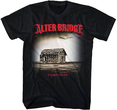 £14.13 • Buy Official Alter Bridge Fortress Adult T-Shirt - American Rock Band Tee