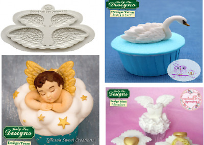 £9.50 • Buy Katy Sue Designs WINGS Embelishment Silicone Mould - Swans, Angels, Doves