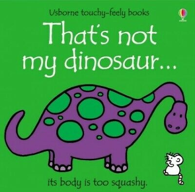 £3.29 • Buy That's Not My Dinosaur By Wells, Rachel Board Book Book The Cheap Fast Free Post