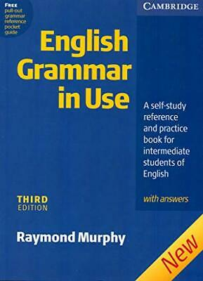 £5.49 • Buy English Grammar In Use With Answers: A Self-stud... By Murphy, Raymond Paperback