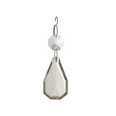 £11 • Buy Replacement Chandelier Crystal Effect Drop 1 Small 1 Medium Champagne Litecraft