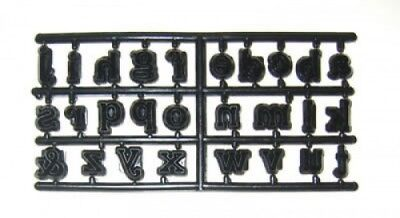 £6.15 • Buy Patchwork Cutters ALPHABET LOWER CASE- Cake Decorating Embosser Cutter