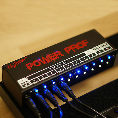 $ CDN45.98 • Buy EU Mr. Power Guitar Effects Pedal Board Power Supply 9V 12V 18V Output 10 Ways