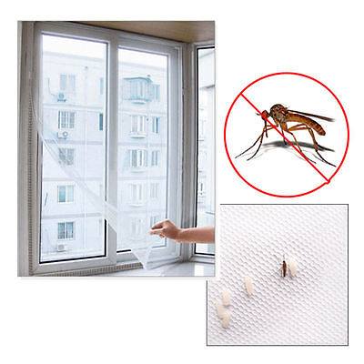 £4.49 • Buy Mesh Window Magic Curtain Snap Fly Bug Insect Mosquito Screen Net White
