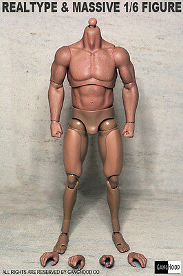 £25.45 • Buy GangHood 1/6 Scale Muscular Body 1.0 Version For Hot Toys Bane Head Sculpts