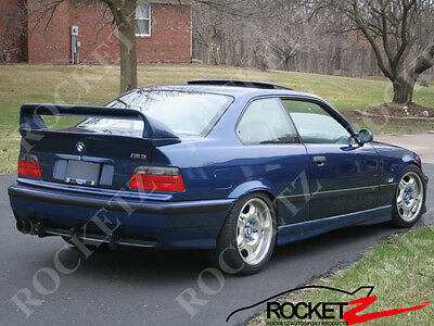 $169.99 • Buy 92-98 BMW E36 HM LTW Style 2PC Trunk Spoiler Wing CANADA USA (High Ver.)