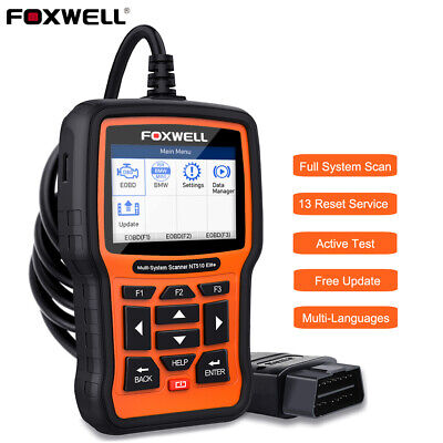 Foxwell NT510 Full Systems Scanner For Honda Acura OBD2 ABS SRS Diagnostic Tool • 141.55$