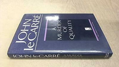 £12.99 • Buy A Murder Of Quality (Lamplighter S.) By Le Carré, John Hardback Book The Cheap