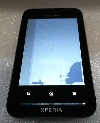 £10.23 • Buy Sony Ericsson Xperia Tipo ST21a Black POWER UP Bad LCD Clean IMEI Read Below