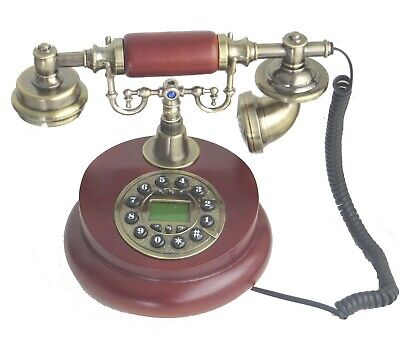 NEW Working House Telephone Vintage Replica Corded Landline Phone Ceramic Wired • 26.90£