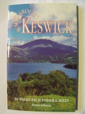 Walks Around Keswick (Dalesman Walks Around) By Gibson, Dawn Paperback Book The • 6.49£