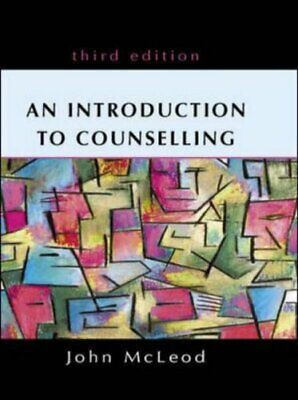 £3.59 • Buy An Introduction To Counselling By Mcleod, John Book The Cheap Fast Free Post