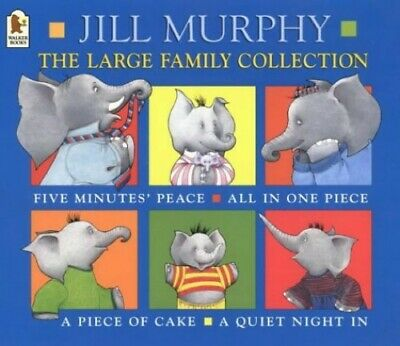 £5.99 • Buy The Large Family Collection By Murphy, Jill Paperback Book The Cheap Fast Free