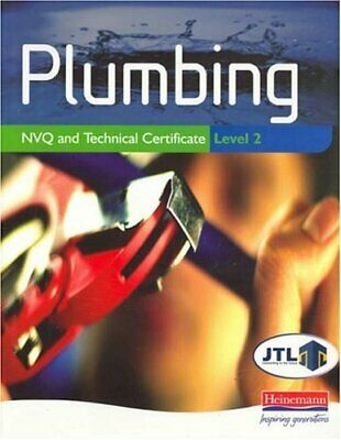 Plumbing NVQ And Technical Certificate Level 2 By JTL Paperback Book The Cheap • 6.68£