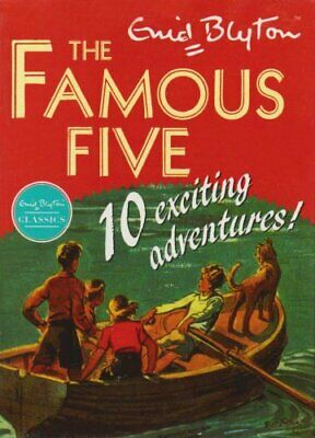 Famous Five Classic Collection 10 Book Set By Blyton, Enid Book The Cheap Fast • 8.49£