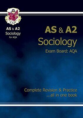 £3.99 • Buy AS/A2 Level Sociology AQA Complete Revision & Practice By CGP Books Paperback