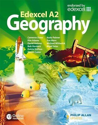 £3.29 • Buy Edexcel A2 Geography Textbook By Knifton, Dulcie Paperback Book The Cheap Fast