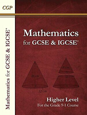 Maths For GCSE And IGCSE® Textbook, Higher (for The Grade 9-1 C... By CGP Books • 11.99£