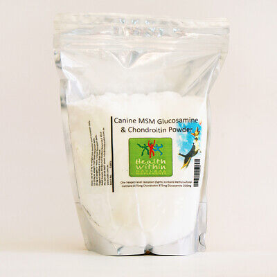 AU130 • Buy Canine MSM Chondroitin Glucosamine Powder 2000gm Dog Joint Arthritis Dysplasia
