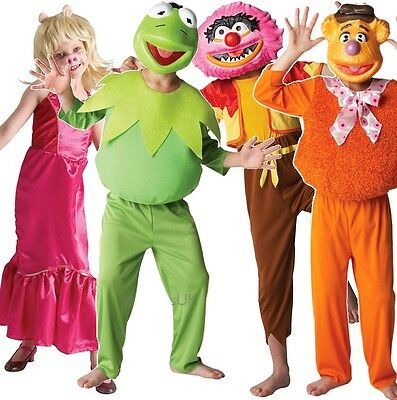 Deluxe Boys Girls Disney The Muppets 1960s 1970s Film Fancy Dress Costume Outfit • 17.99£