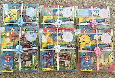 £2 • Buy Pre Filled Christening Party Bag / Activity Pack For Children