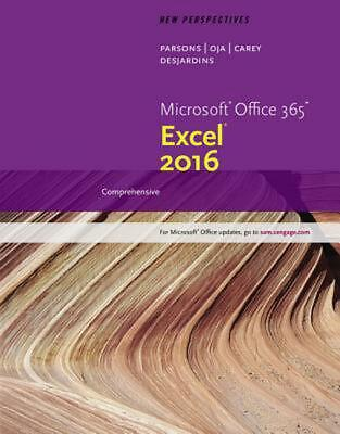 AU114.99 • Buy New Perspectives Microsoft Office 365 & Excel 2016: Comprehensive By Ann Shaffer