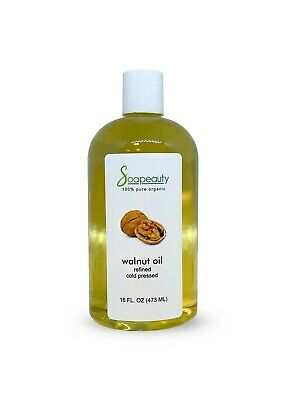 $13.59 • Buy Walnut Oil Carrier Organic Cold Pressed 100% Pure Refined 4 Oz To 1 Gallon