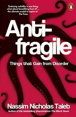 £6.99 • Buy Antifragile: Things That Gain From Disorder By Taleb, Nassim Nicholas Book The