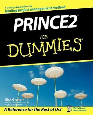 £7.49 • Buy Prince2 For Dummies By Graham, Nick Paperback Book The Cheap Fast Free Post