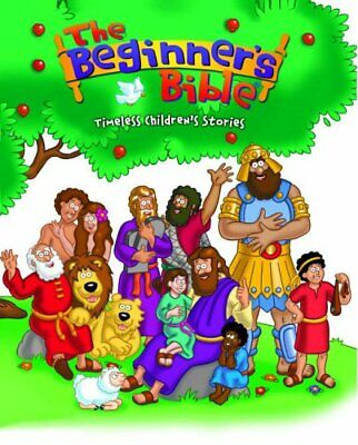 The Beginner's Bible: Timeless Children's Stories By - Hardback Book The Cheap • 5.99£