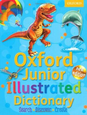 Oxford Junior Illustrated Dictionary 2012 By Oxford Dictionaries Paperback Book • 3.99£