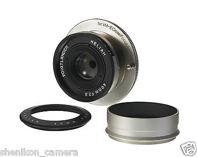$ CDN680.70 • Buy New Voigtlander HELIAR 40mm F2.8 Pancake VM-E Close Focus Mount Sony A7 A7R A7S