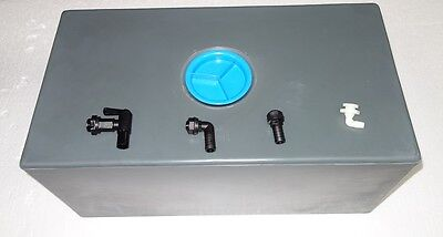 Motor Home, Caravan, Waste Water Tank, With 20mm Ang, St, & Drain Tap New  • 100£