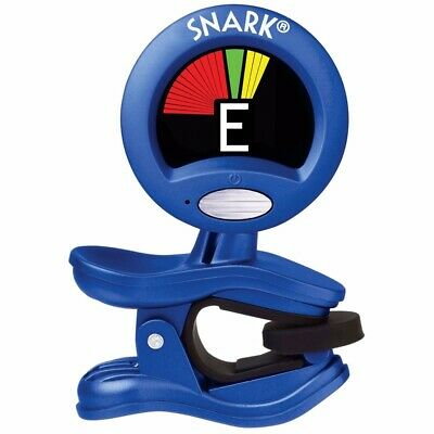 $ CDN15.66 • Buy Snark SN-1X Blue Clip-On Chromatic Instrument Tuner For Guitar And Bass SN1X