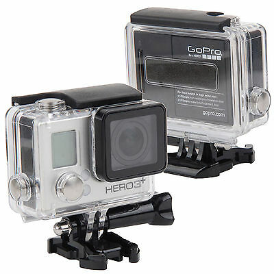 $ CDN17.52 • Buy 40M Gopro Hero 3+ 4 Camera Diving Underwater Housing Case Waterproof Cover
