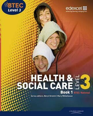 £3.99 • Buy BTEC Level 3 National Health And Social Care: Stu... By Talman, Hilary Paperback