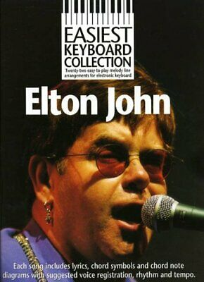 £3.99 • Buy EASIEST KEYBOARD COLLECTION ELTON JOHN MLC By Various Book The Cheap Fast Free