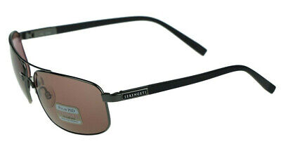 $197.32 • Buy NEW POLARIZED SERENGETI PALLADIO Shiny Gunmetal PHD Sedona Lens Sunglasses 7570